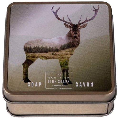 Мыло в жестяной коробочке Wildlife Stag the white stag