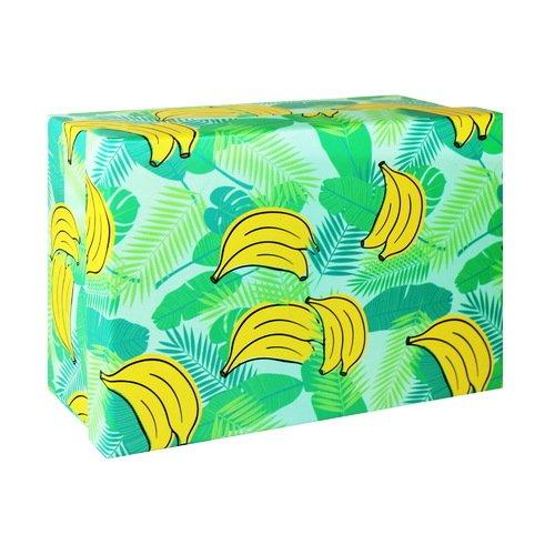 Подарочная коробка Бананы, 23 х 16 х 9,5 см подарочная коробка зигзаги 9 х 16 х 23 см