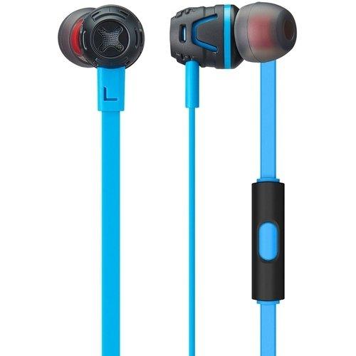 """лучшая цена Наушники """"Cresyn C450S mic Neon Blue"""""""