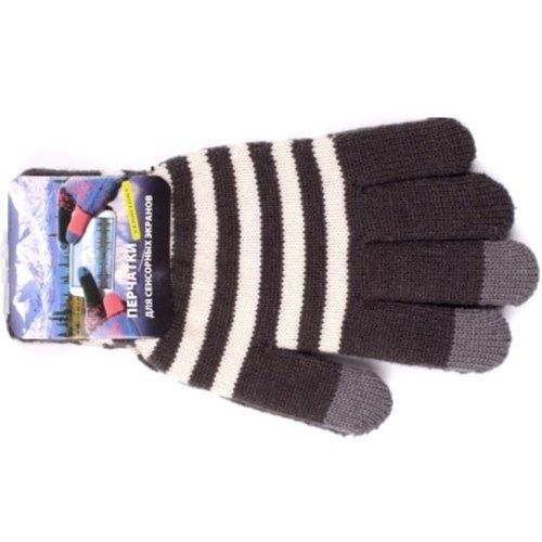Перчатки для сенсорных экранов Territory, светло-серые перчатки для сенсорных экранов territory синие