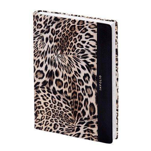 """Ежедневник недатированный """"Leopard"""" А6+, 320 стр., 12 x 17 см"""