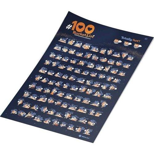 Скретч постер #100 Bucketlist. Kamasutra edition вероника ларссон как разнообразить секс в браке как разнообразить интимную супружескую жизнь впостели