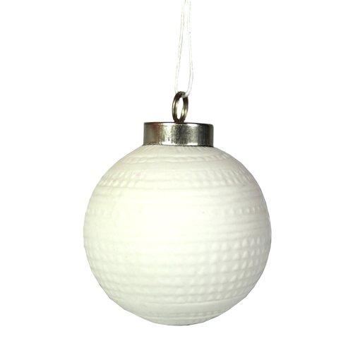 цена на Елочный шар, 6 см, белый