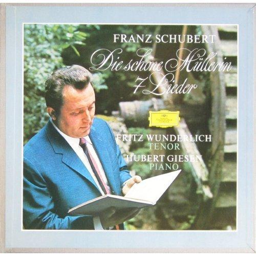 Wunderlich, Fritz Schubert - Die Schone Mullerin; 7 Lieder цена и фото