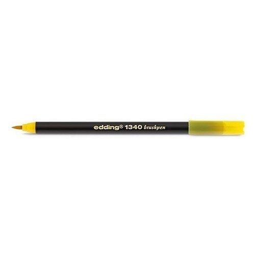 цены на Фломастер с наконечником-кистью, желтый  в интернет-магазинах
