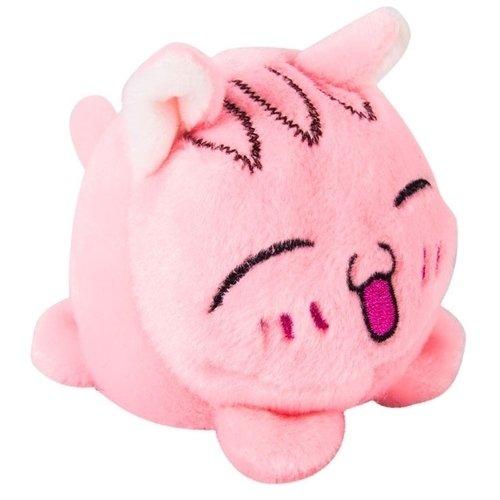 Купить Мягкая игрушка-мячик Кот розовый, 7 см, Button Blue, Мягкие игрушки