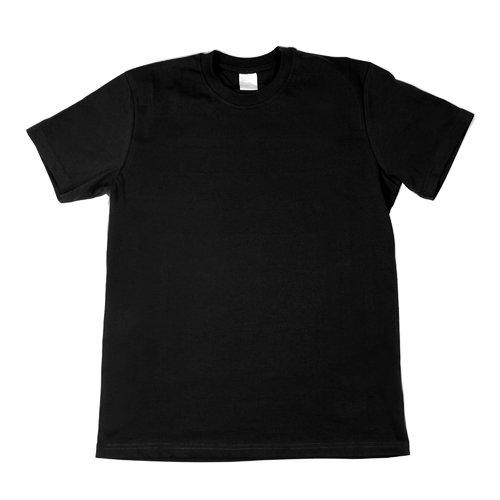 Футболка мужская, черная, размер L футболка мужская калашников принт 5 цвет черный отк000034 размер l 50