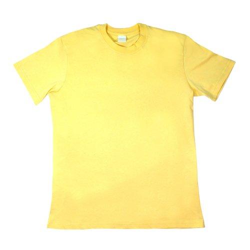 Футболка мужская, желтая, размер M