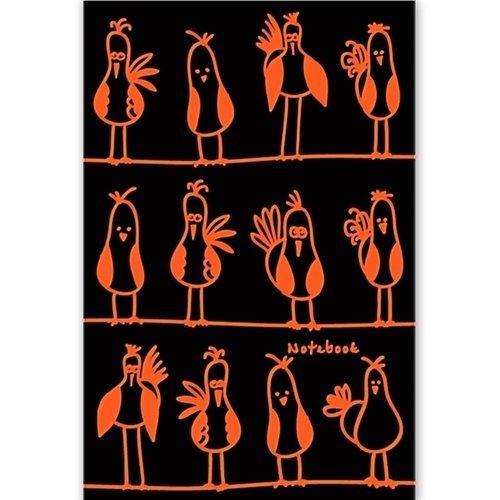 "Книга для записей ""Яркие птахи"" А5, 80 листов"