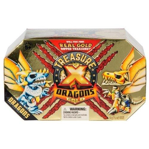Набор Treasure X. Золото драконов, дракон, сокровище фигурки героев мультфильмов moose treasure x золото драконов 41507