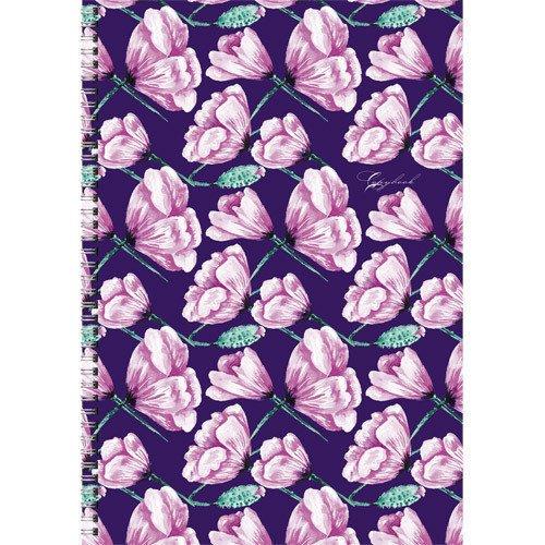 купить Тетрадь для конспектов Розовые лепестки А4, 96 листов, в клетку дешево