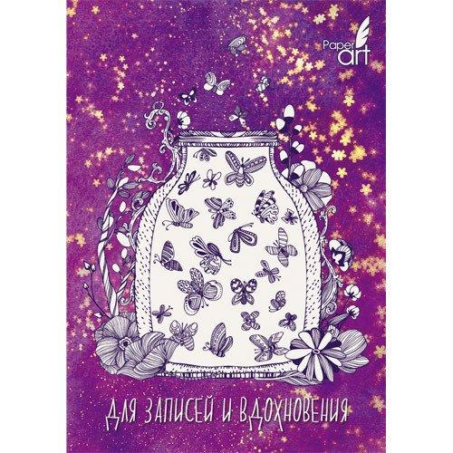 Фото - Книга для записей Светлячки А6, 80 листов, в клетку книга для записей 80 листов романтика кошки а6 кзф6801279