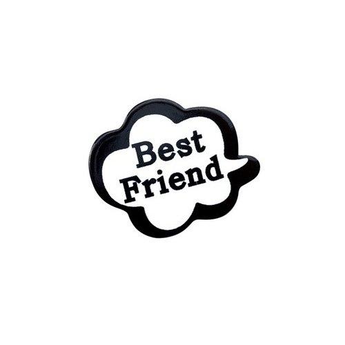 "Значок ""Best Friend"""