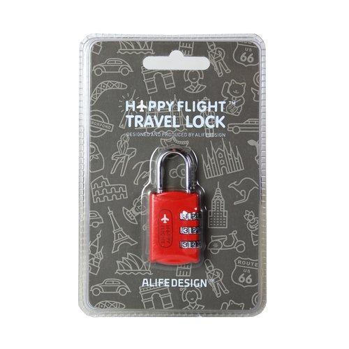 Замок для чемодана HF, красный замок велосипедный кодовый park bk 12x1200мм в ассортименте