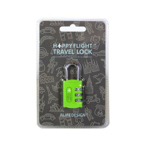 """Замок для чемодана """"HF"""", зеленый"""