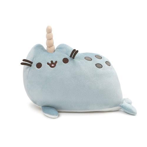 Купить Игрушка плюшевая Пушин-единорог , 35 см, голубая, Gund, Мягкие игрушки