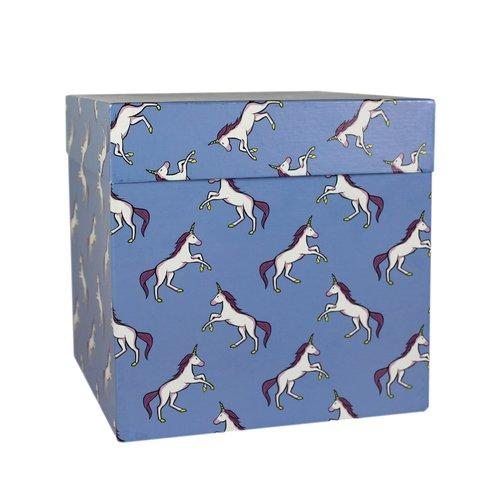 """Коробка подарочная """"Единороги"""", 23 х см"""