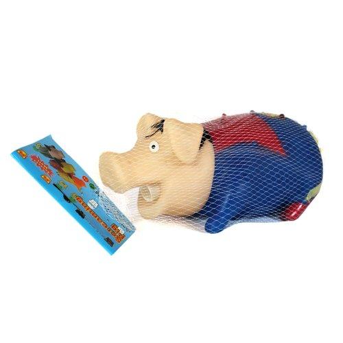 Игрушка Свинка-супермэн, 21 x 10 см игрушка