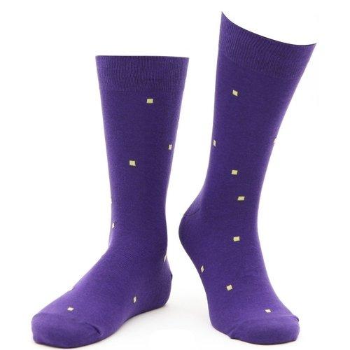 Носки Art Of Color, фиолетовые, 39-42 носки мужские marrey art of color цвет желтый sm0002 размер 39 42