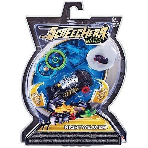 Машинка-трансформер Найтвивер л1 машинка трансформер screechers wild crocshock
