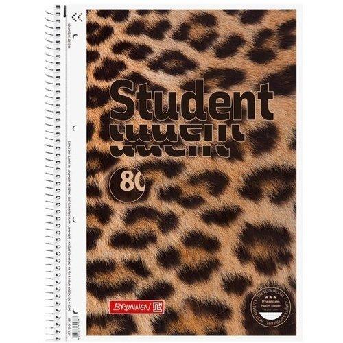 Тетрадь Animal А4, 80 листов, в клетку ульяновский дом печати тетрадь 80 листов в клетку то 508