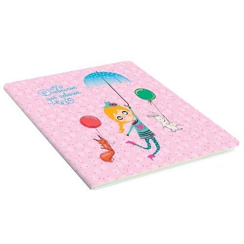 """Дневничок для девочек """"My stories. Дизайн 4"""", 48 листов, 15 х 15 см"""