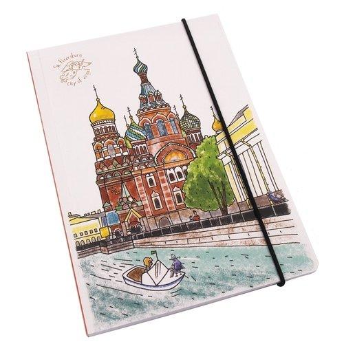 "Блокнот на резинке ""Спас-на-Крови"" А6, 100 листов цены онлайн"