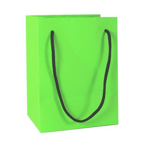 Подарочный пакет, 12 х 16 х 9 см, зеленый