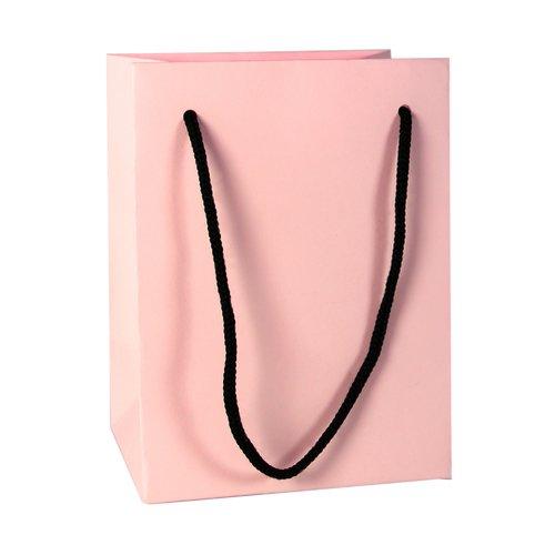 цена на Подарочный пакет, 12 х 16 х 9 см, розовый