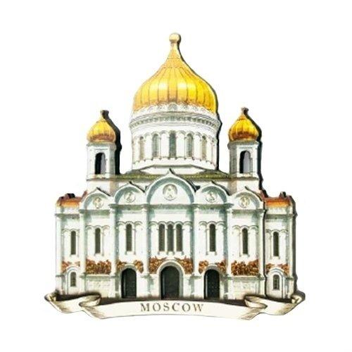 Магнит Храм Христа Спасителя 3D мт 312 магнит москва храм христа спасителя