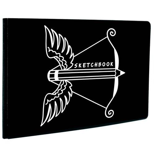 "Cкетчбук ""Black&White. Дизайн 5"" А5-, 60 листов, 13 х 18 см"