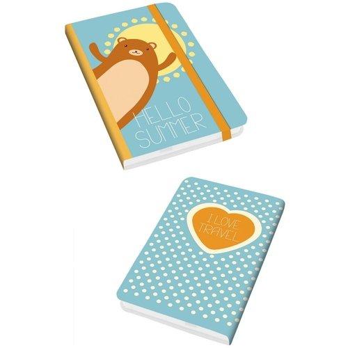 Блокнот для записей Travel Time. Дизайн 4 А6, 96 листов