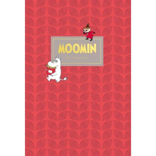 Тетрадь Муми-тролли А5, 40 листов, в линейку, красная блокнот для гениальных идей
