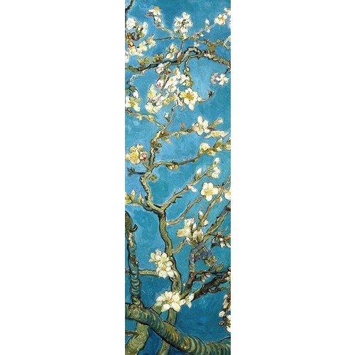 """Закладка с резинкой """"Ван Гог. Цветущие ветки миндаля"""", 5 х 17,5 см"""