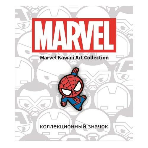 Значок деревянный Марвел. Человек Паук человек паук полный гид по миру комиксов о любимом супергерое