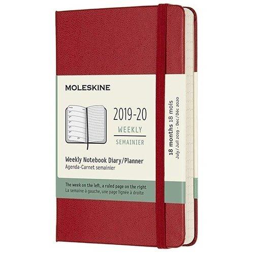 Фото - Еженедельник датированный на 18 месяцев Academic WKNT Pocket, 208 страниц, 9 х 14 см, красный еженедельник датированный на 18 месяцев academic 592 страницы 13 х 21 см красный