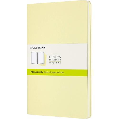 """Блокнот """"Cahier Journal"""" Large, 40 листов, нелинованный, 13 х 21 см, нежно-желтый"""