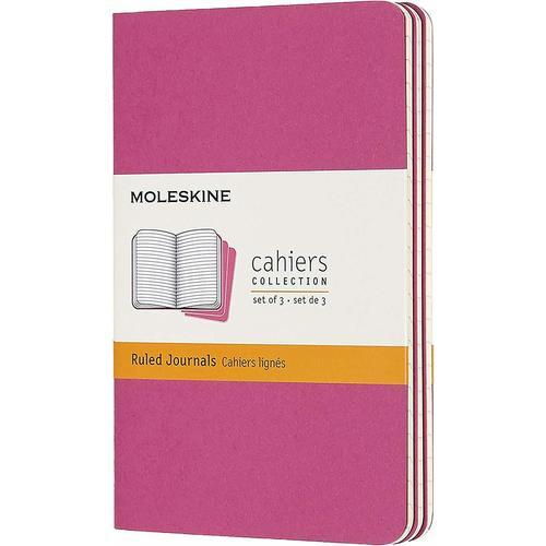 """Блокнот """"Cahier Journal"""" Pocket, 32 листа, в линейку, 9 х 14 см, розовый неон"""
