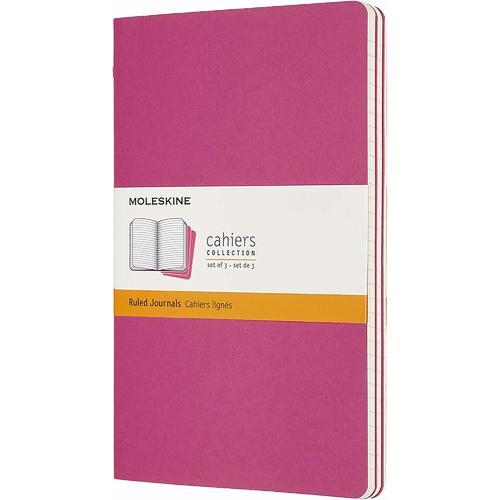 """Блокнот """"Cahier Journal"""" Large, 40 листов, в линейку, 13 х 21 см, розовый неон"""