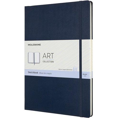 "Блокнот для рисования ""Art Sketchbook"" A4, 52 листа, синий сапфир"