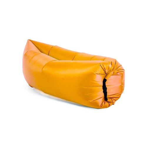 """Надувной диван """"Биван Классический"""", оранжевый"""