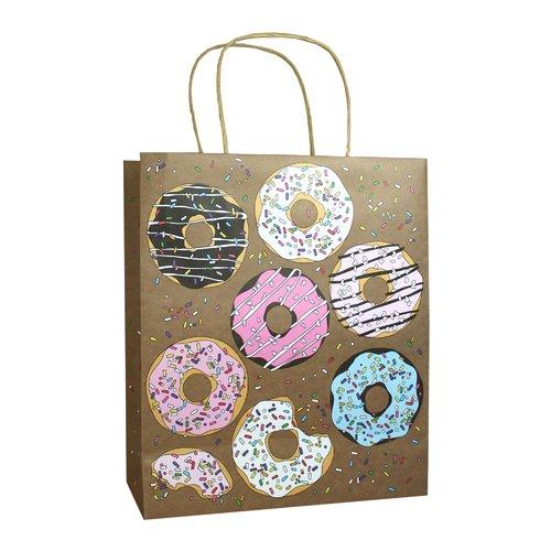 """Пакет подарочный """"Пончики"""", 35,5 х 28 15 см"""