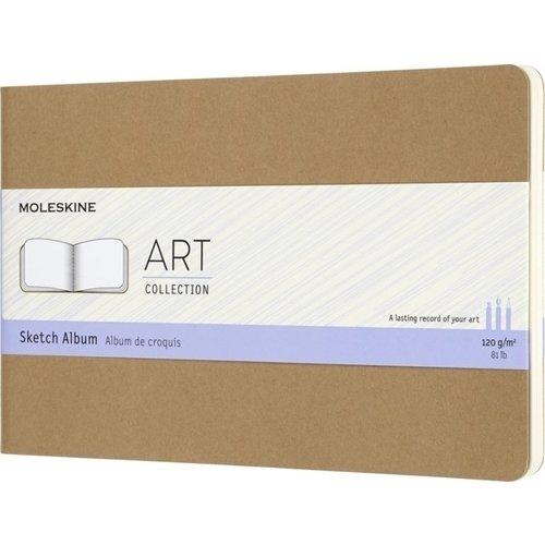 """Блокнот для рисования """"Art Cahier Sketch Album"""", 44 листа, 120 г/м2, 13 х 21 см, бежевый"""