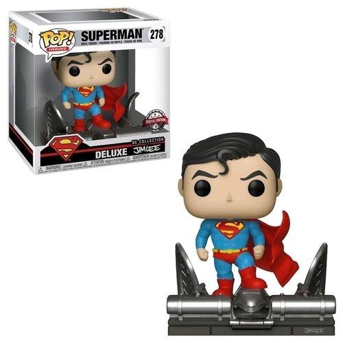 """Фигурка POP! Deluxe """"DC. Superman on Gargoyle"""" цена в Москве и Питере"""