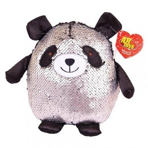 "Мягкая игрушка ""Панда с пайетками"", 20 см"