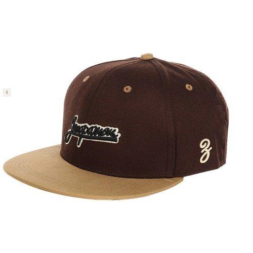 "Бейсболка ""Logo"", O/S, коричневая / бежевая"