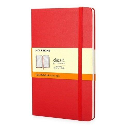 """Блокнот """"Classic Ruled"""" Pocket, 96 листов, в линейку, красный"""