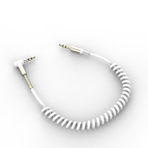Фото - Aux-кабель Spiral, 1,2 м, белый кабель