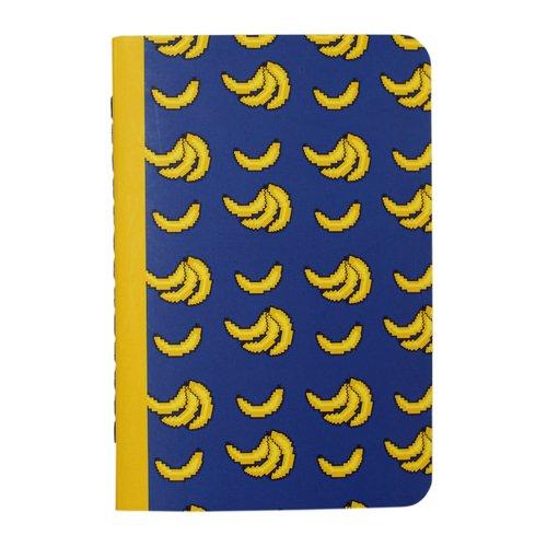 Фото - Тетрадь Бананы А6, 30 листов, в клетку канцелярия lejoys блокнот sustainable в клетку с хлопковой обложкой а6 120 листов
