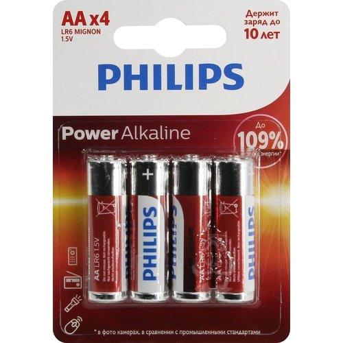 Фото - Батарейка щелочная Power Alkaline, тип AА, 4 шт. василий ян что лучше